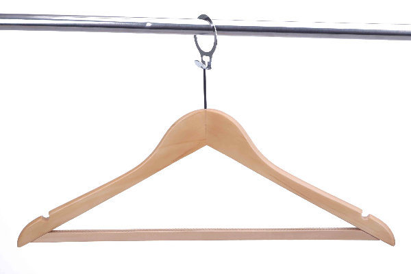 Luxury Hotel Wooden Coat Hanger