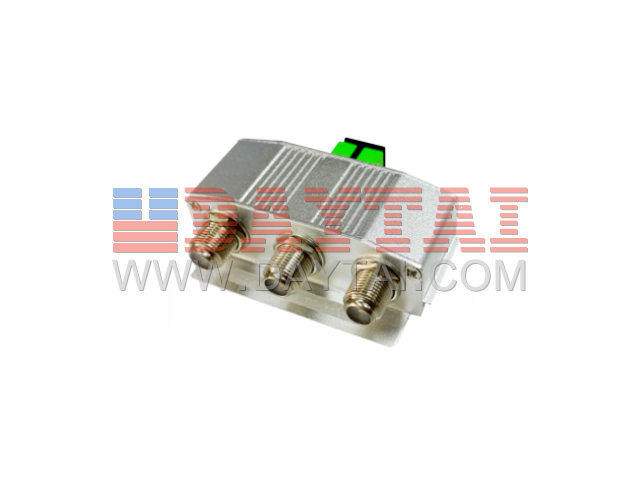 3 Way FTTH Optical Node Converter Fiber Optical Receiver