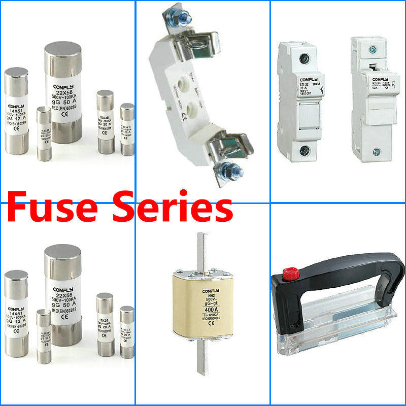 Ce Certificate Cylindrical Protection Fuse Holder