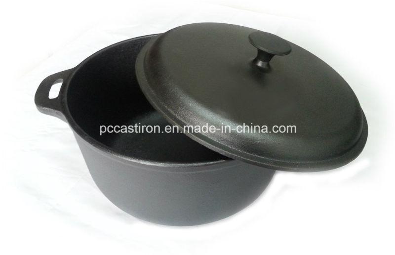 7.0L Preseasoned Cast Iron Casserole Dia 28cm