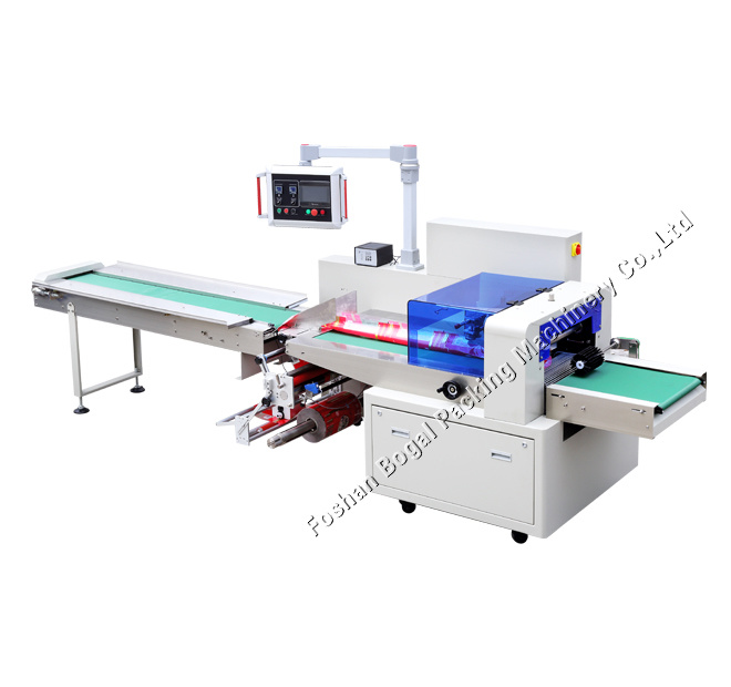 Sami-Automatic Wrapping Moon Cake with Tray Horizontal Packing Machines
