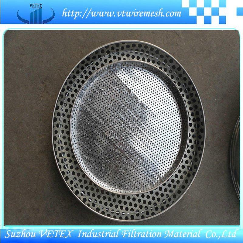 Solid-Liquid Separation Stainless Steel Sieve
