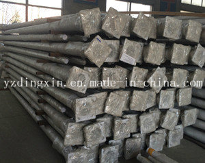 Hot DIP Galvanized Pole Ce ISO Steel Poles Galvanized Telescopic Camera Pole
