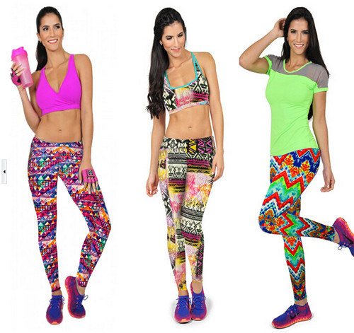 Fashion Women Sport Yoga Fitness Pants (58970)