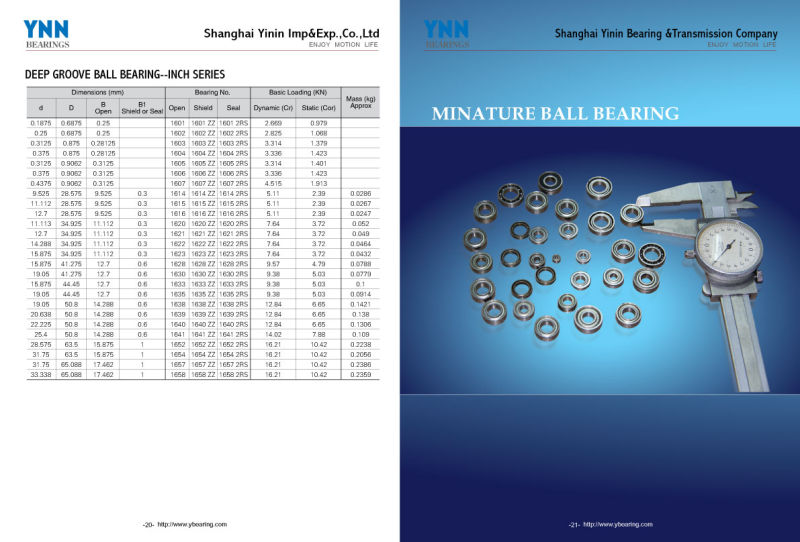 China Bearing Manufacturing Deep Groove Ball Bearing with Competitive Price (628)