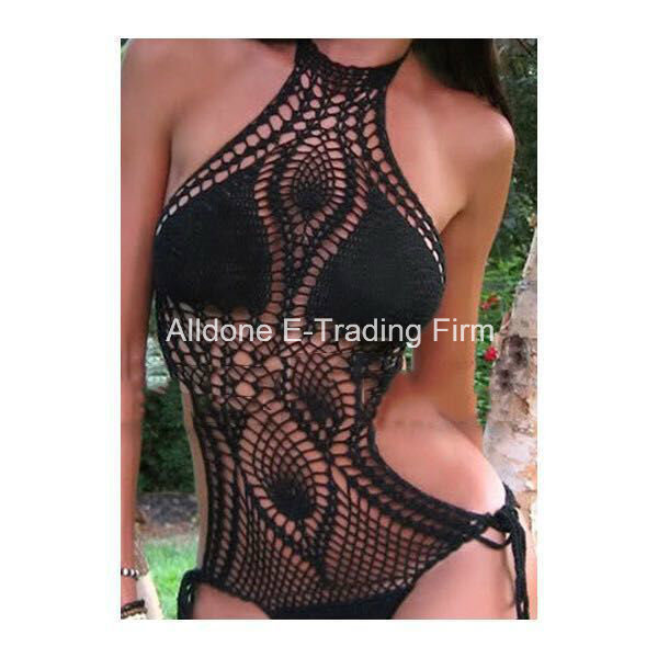 Hand Crochet Dress Beachwear Swimwear Swimsuit Bikini Lingerie Swimming Wear