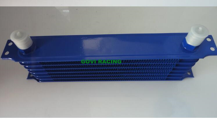 10 Row Blue An10 Transmission Oil Cooler Radiator Repair