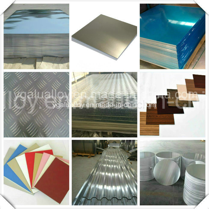 Decorative Sublimation Aluminum Alloy Sheet Plate Mirror Polished Anodized Aluminum Sheet