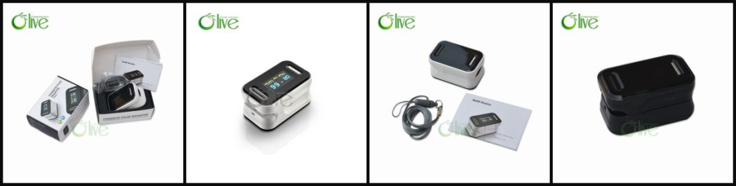 Medical Finger Oximeter for Measuring SpO2 and Pr Value (OLV-80b)