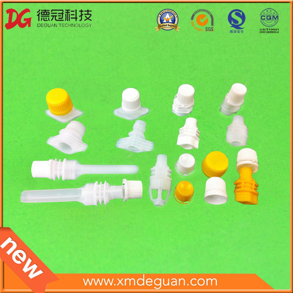 8.6mm Packaging PE Pouch Screw Spout with Cap
