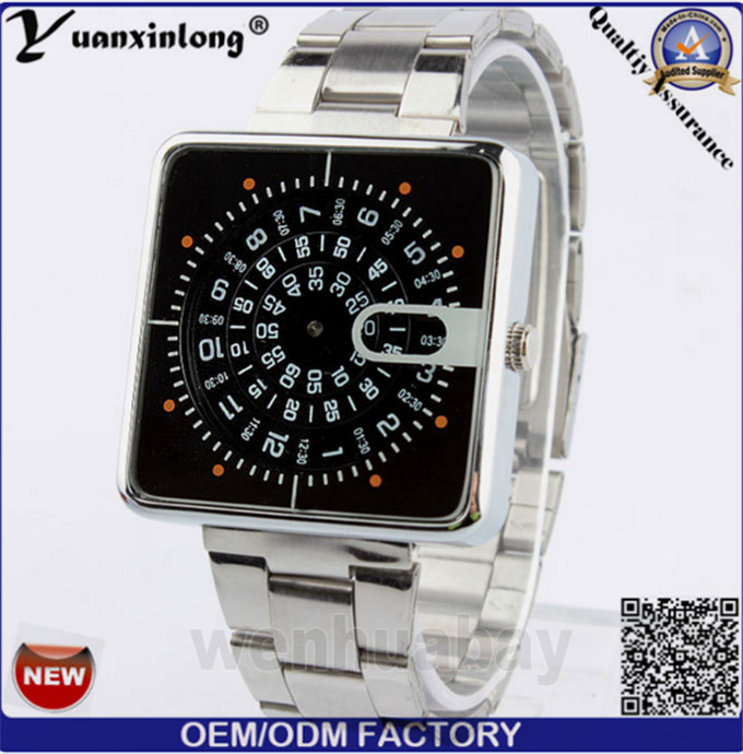 Yxl-372 New Arrival Multifunction Digital Watches Quartz Mesh Stainless Steel Mens Watch Wholesale