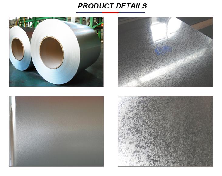 GI Prime Hot Dipped Galvanized Steel Coil