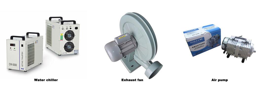 CCD Camera Laser Cutting Machine for Label Trademark Sticker