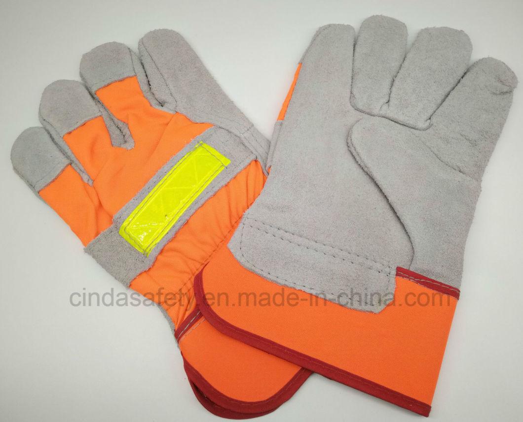 Cow Split Leather Welding Working Glove