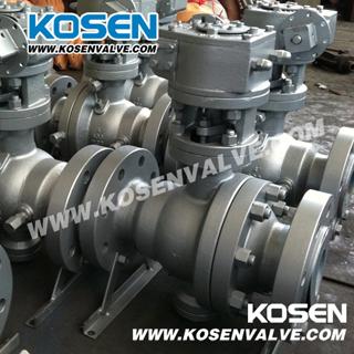 Cast Steel Trunnuion Ball Valves (Q347)