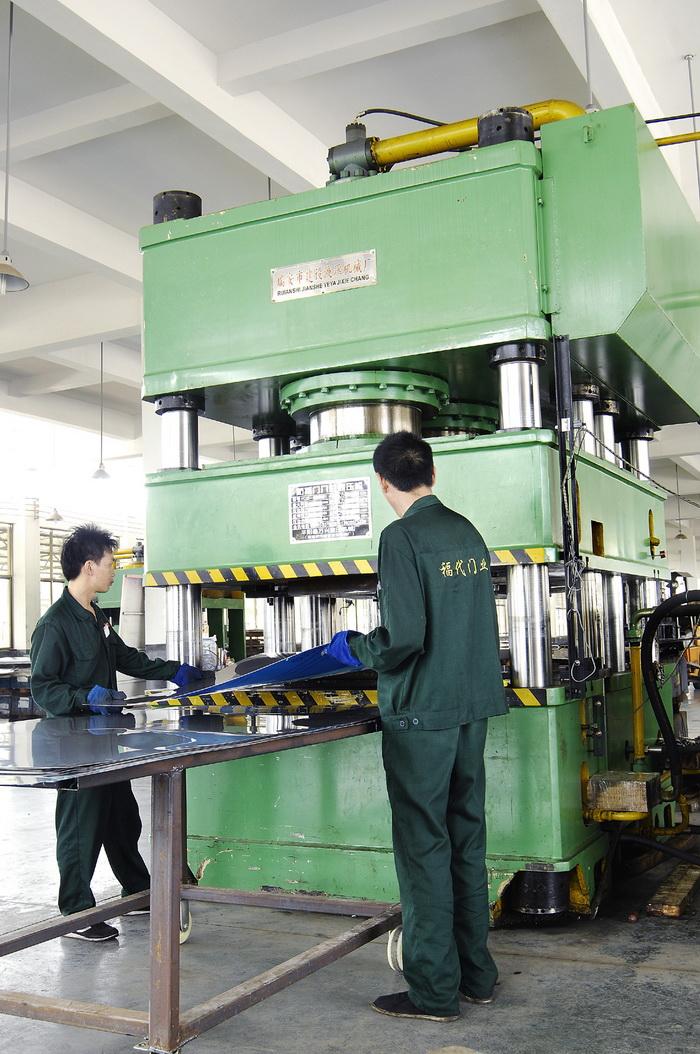 Europe CE Highest Quality Security Steel Door Export to Nigeria (G125)
