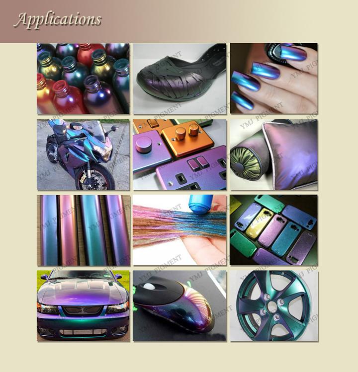 Color Shift Chameleon Ink Pigment/ Chameleon Pigment for Spray Paints