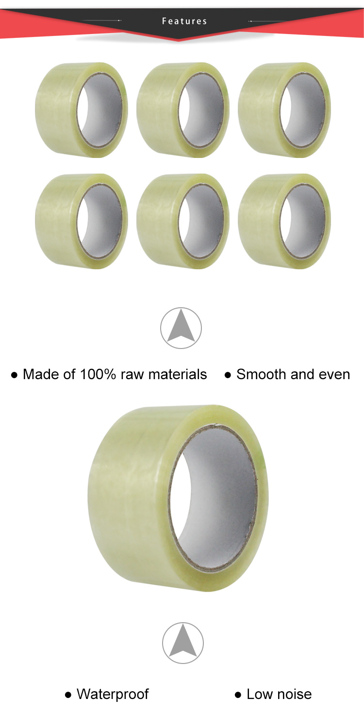 Security Packaging Hot Melt Tape Feature