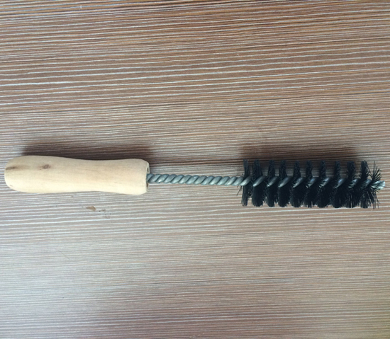 Wooden Handle Black Nylon Wire Cleaning Brush (YY-606)