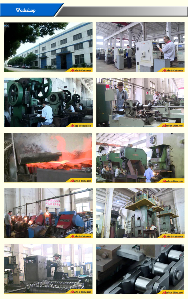 Standard Cast Iron Tsubaki Transmission Conveyor Roller Chain