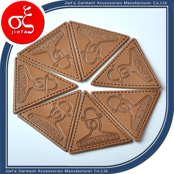 Prpfession Custom Embossed Leather Patch for Jeans/Jacket Leather Patch Labels
