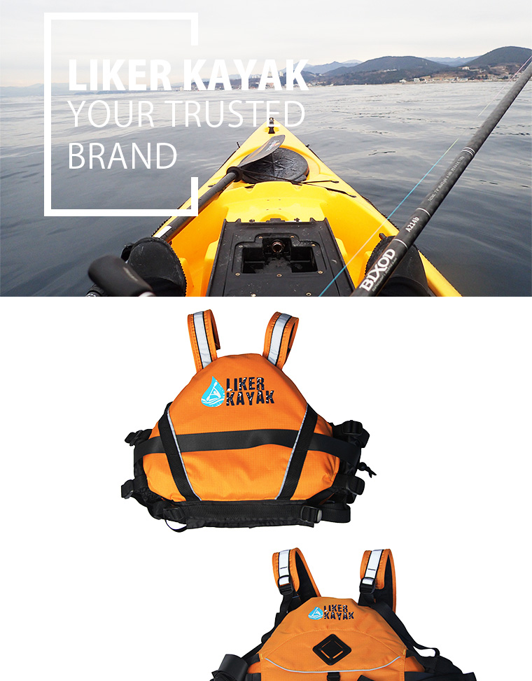 High Quality 400d Terylene Oxford Textile Rescue Life Vest/Life Jacket/Inflatabl Lifevest