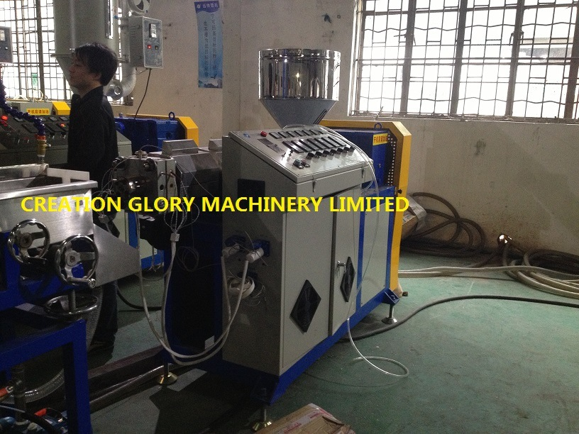 Automatic Plastic Extruding Machine for Making 3D Printer Consumables