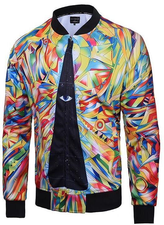Custom/Customized Fashion Winter Down Ski Jacket Sublimation Printed Flight Rain Motorcycle Jacket Cotton/Polyester Men's Outerwear
