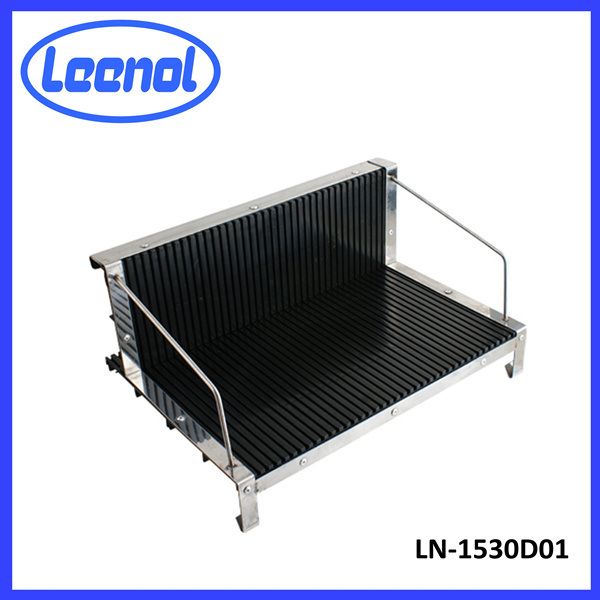 L Type Conductive PCB ESD Circulation Rack
