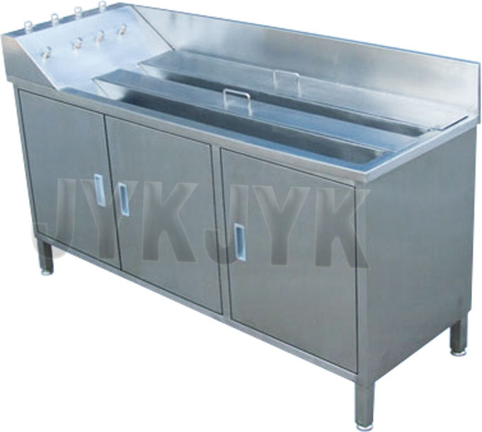 Stainless Steel Soaking & Washing Sink for Castroscope