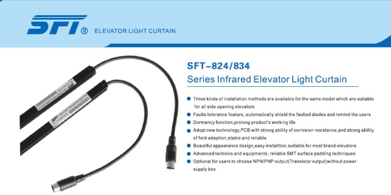 Sft Elevator Light Curtain (SFT-834) with CE CSA