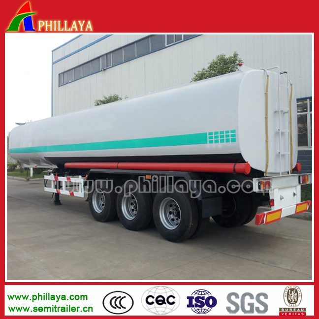 3 Axles Fuel Tank Trailer with Volume Opptional