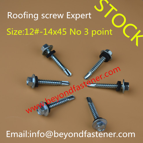Drill Point No 5 Screw Roofing Screw