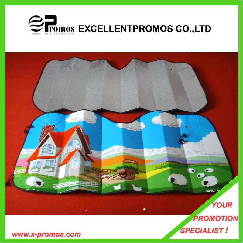 Tyvek Material Car Front Sunshade Tyvek Car Windshield Sunshade (EP-CS1016)