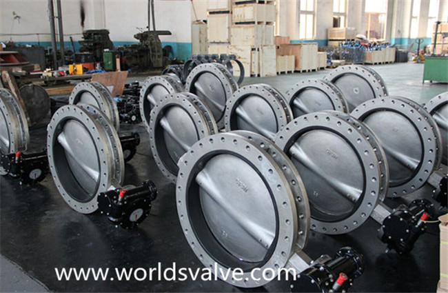 Stainless Steel U Section Butterfly Valve with CE