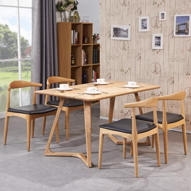 Wooden Design Modern Furniture Dining Room Table