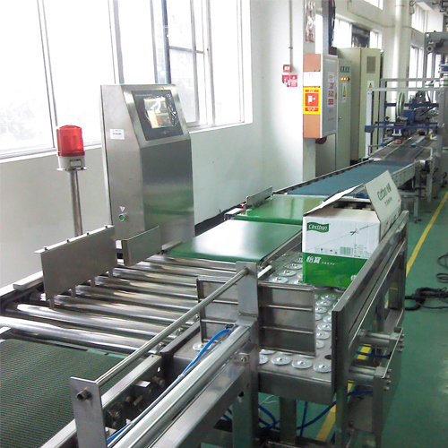 Carton Packaging Snack Food Checkweigher Machine with Rejector