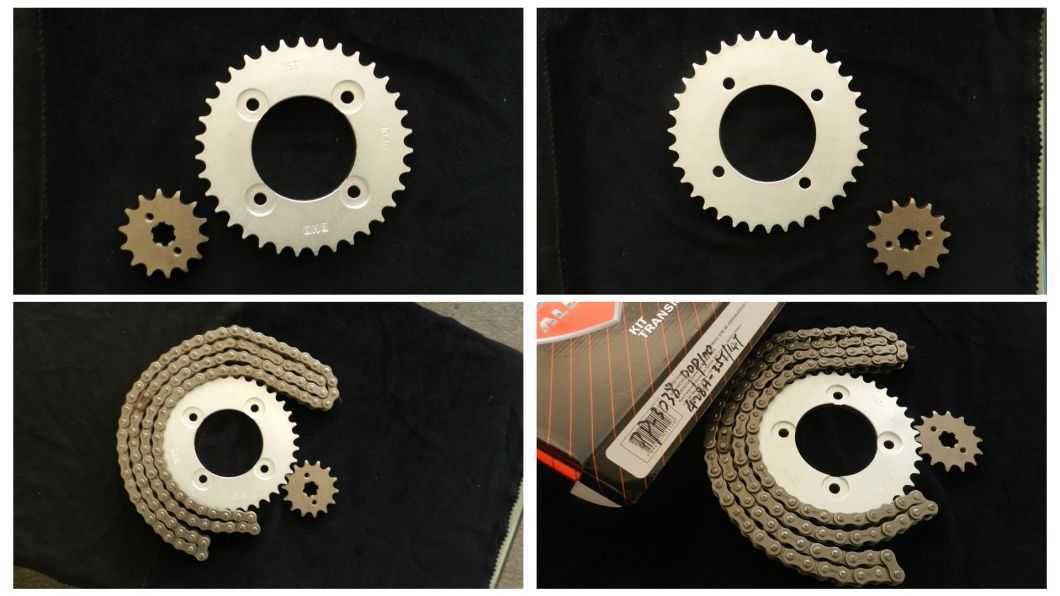 Best Quality Manufacturing Motorcycle Sprocket and Chain Kit