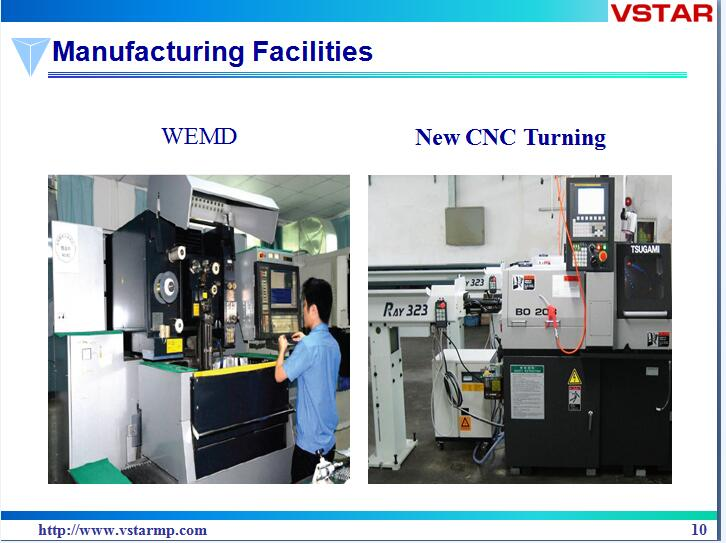 Precision CNC Milling Machined Aluminum Parts with OEM Service Vst-0998