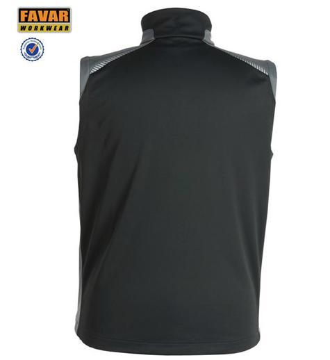 Autumn Softlight Waterproof Body Warmer Outdoor Safety Vest