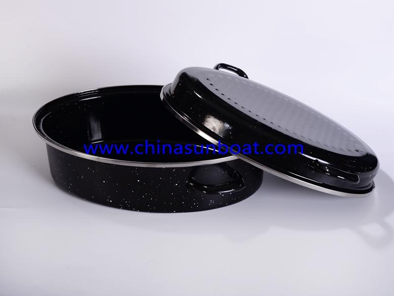 Enamel Oval Roaster Kitchenware