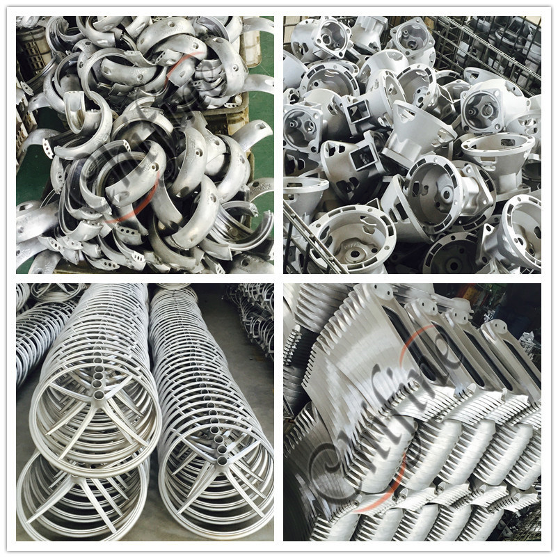 Aluminum Gravity Polished Casting Parts by Die Casting