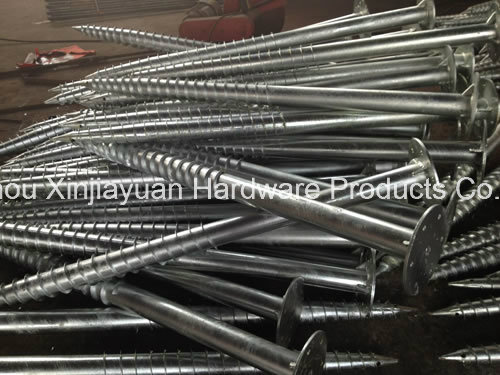 HDG Earth Ground Screw Pole Anchor for Solar Project