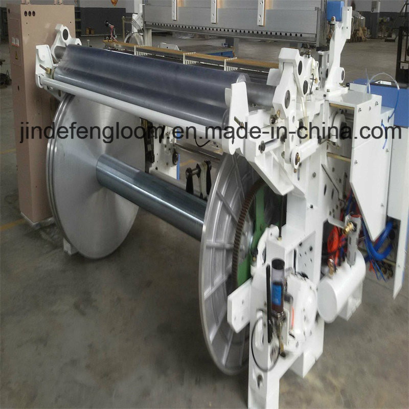 Zax9100 Double Nozzle Airjet Weaving Loom Machine with Electronic Feeder