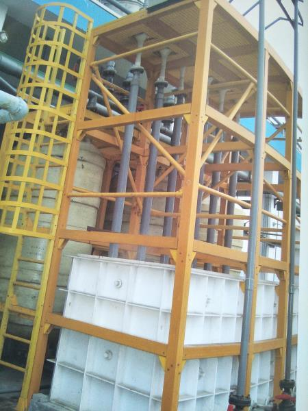 FRP/GRP Pultruded Wide Flange Beam