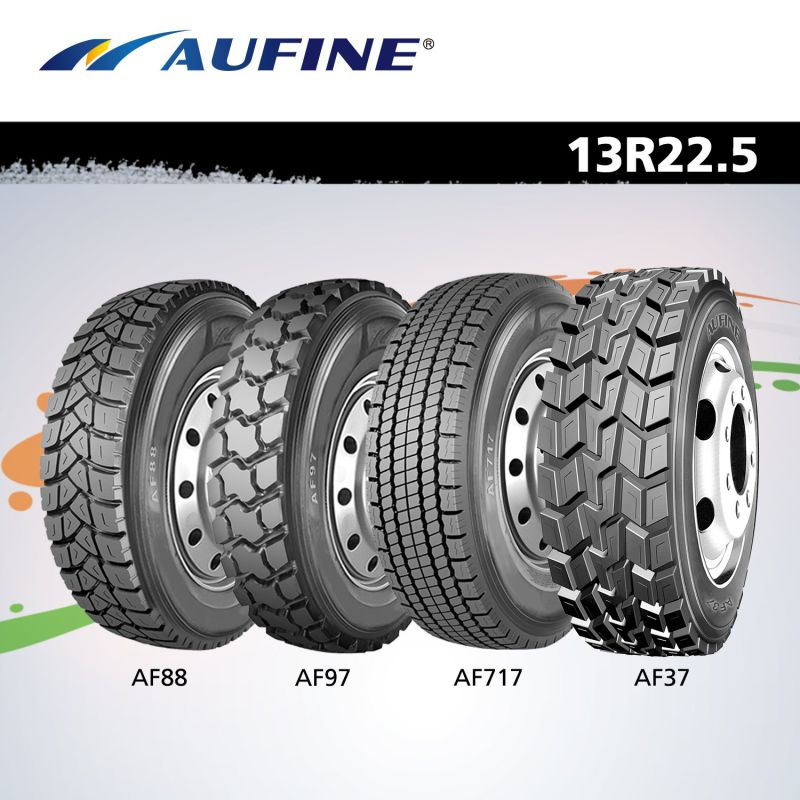 All-Steel Radial (TBR, 13R22.5) Truck Tyre with ECE DOT