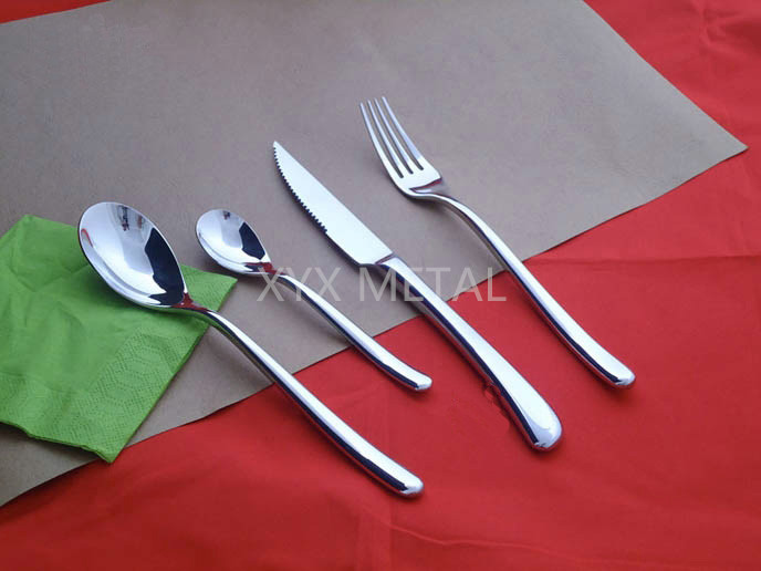 18/8 Stainless Steel Spoon Fork Knives Dinnerware Tableware Cutlery Set