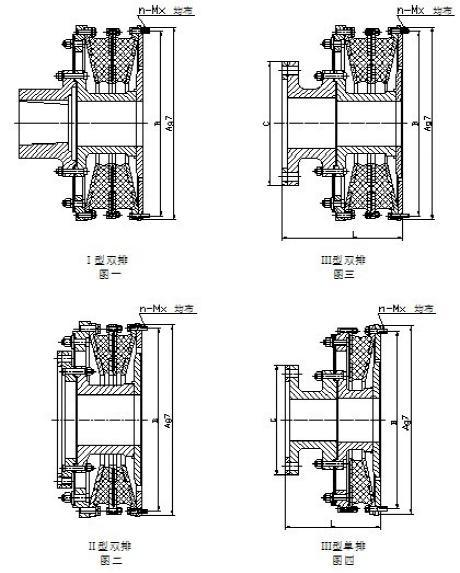 Coupling Hgt Series / Highly-Flexible Coupling /Marine Accessory