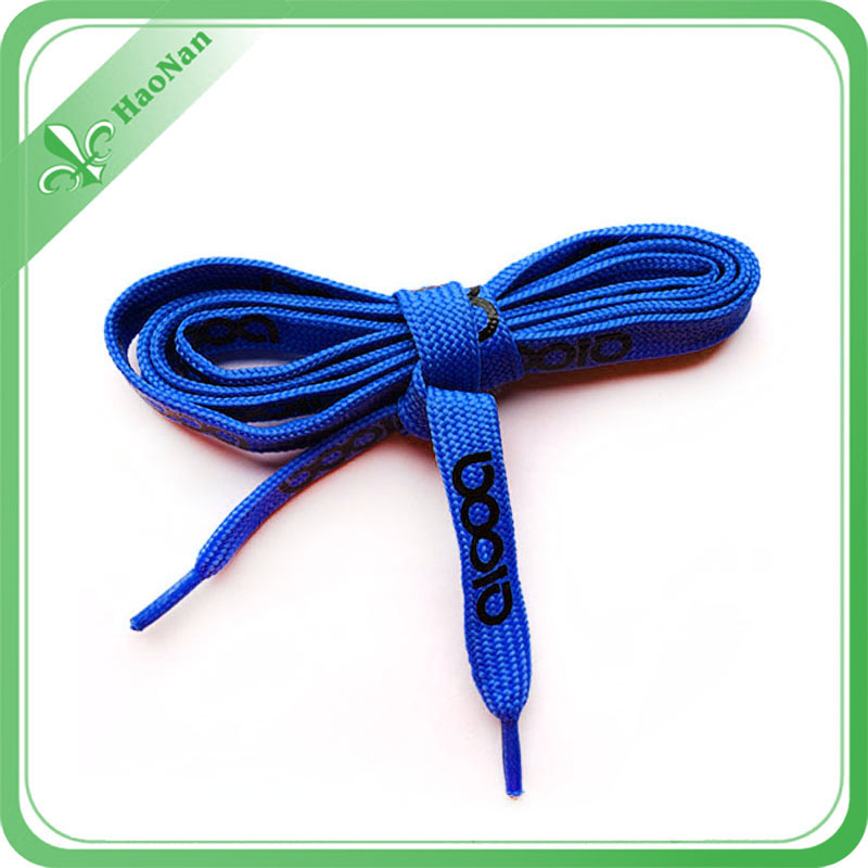 Hot Sale 8mm Wide Custom Shoelaces with Your Logo Designed.