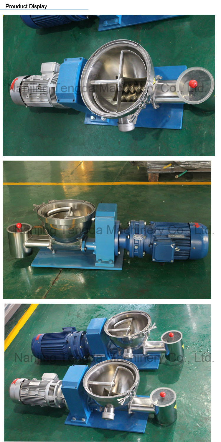 High Speed Feeding Machine for Plastic Industry